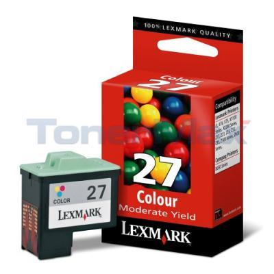 LEXMARK Z645 NO. 27 PRINT CART COLOR